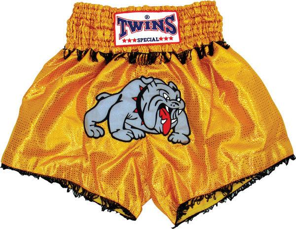 Twins Twins Thai Style Trunks Bulldog W/Fringe